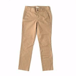 J. Crew Frankie Khaki Chino Pants